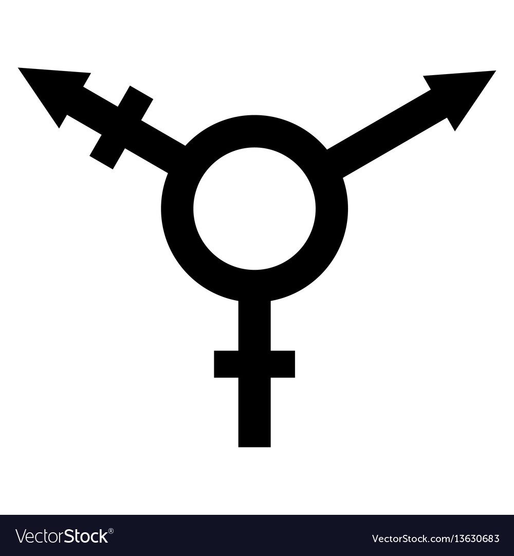 Sign symbol of gender equality.