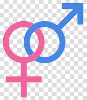 Gender symbol LGBT symbols Female Lesbian, symbol transparent.