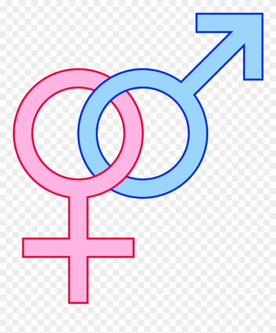 Gender Symbols Cartoon Clipart (#799201).