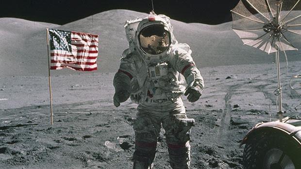 Astronaut Gene Cernan.