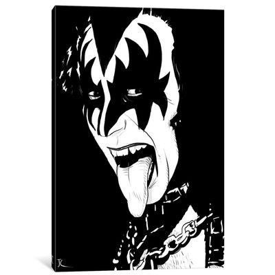 East Urban Home Gene Simmons by Giuseppe Cristiano Painting on.