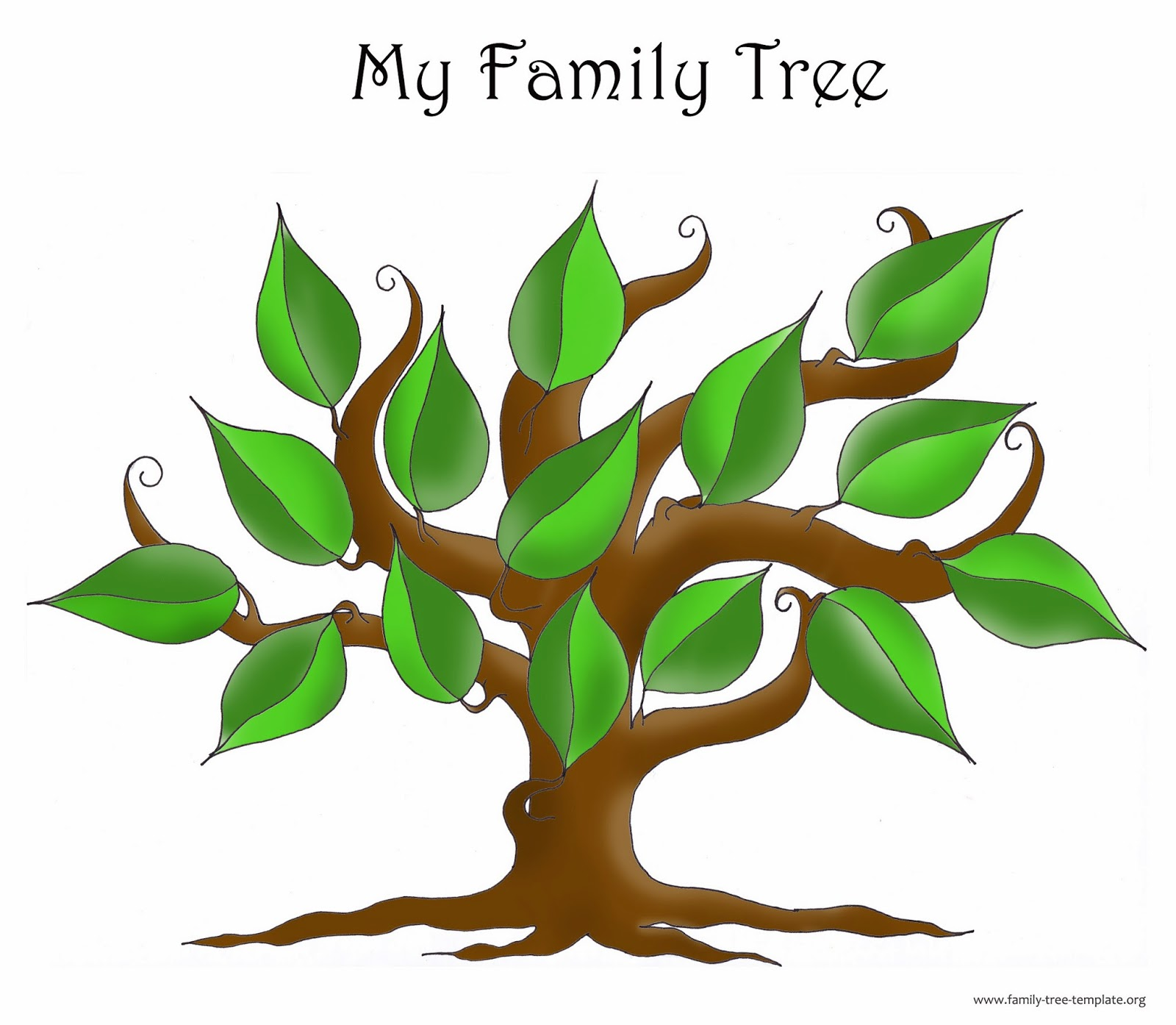 Blank Family Tree Clip Art Pictures to Pin on Pinterest.
