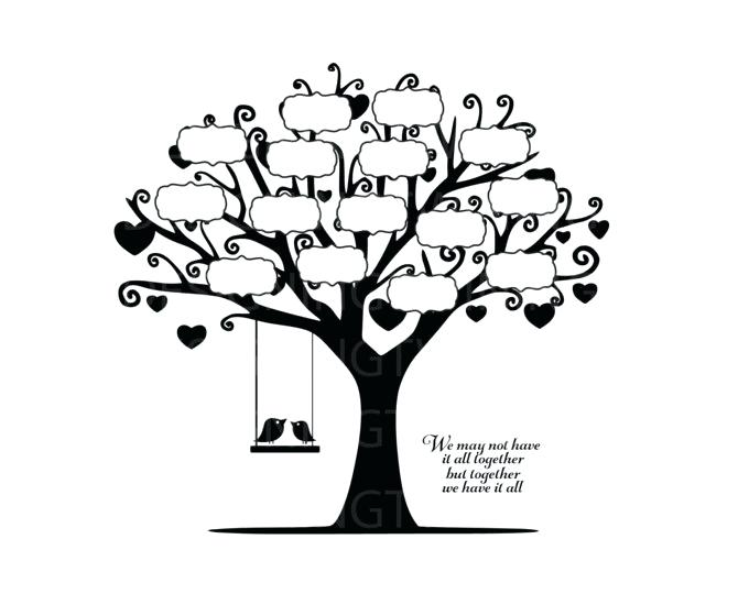 Family Tree Images Graphics Blank Genealogy Clip Art Home.