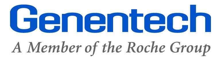 Genentech Logos.