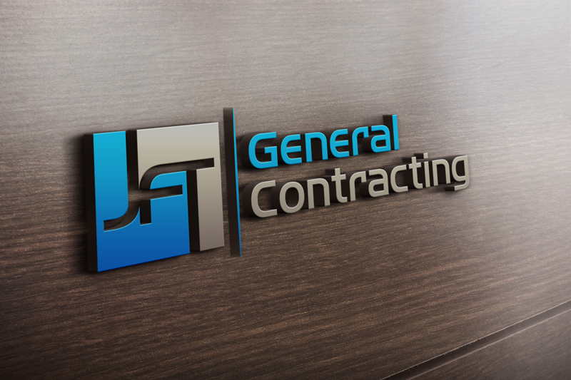 Professional, Bold, Contractor Logo Design for JFT General.