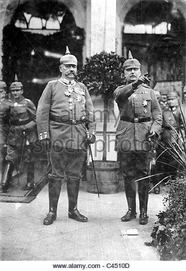 Hindenburg und Beneckendorff Stock Photos & Hindenburg und.