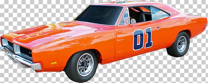 General Lee Muscle car Film, car PNG clipart.