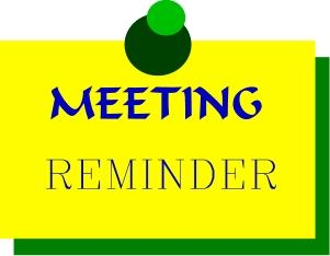 General Meeting Reminder Clipart Free Clip Art Images Image 5.