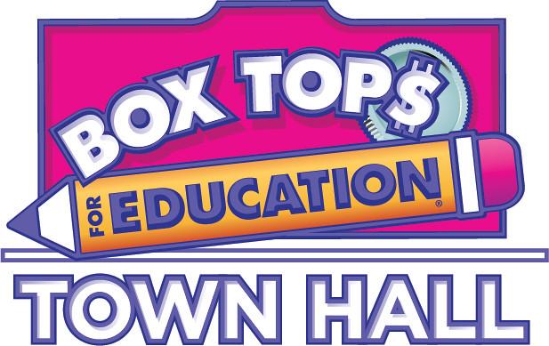 Box Tops Town Hall logo.
