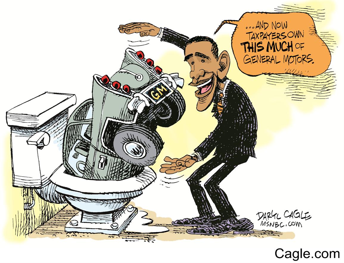 Obama and General Motors.