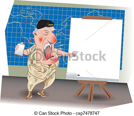 Vectors Illustration of The Battle Plan.
