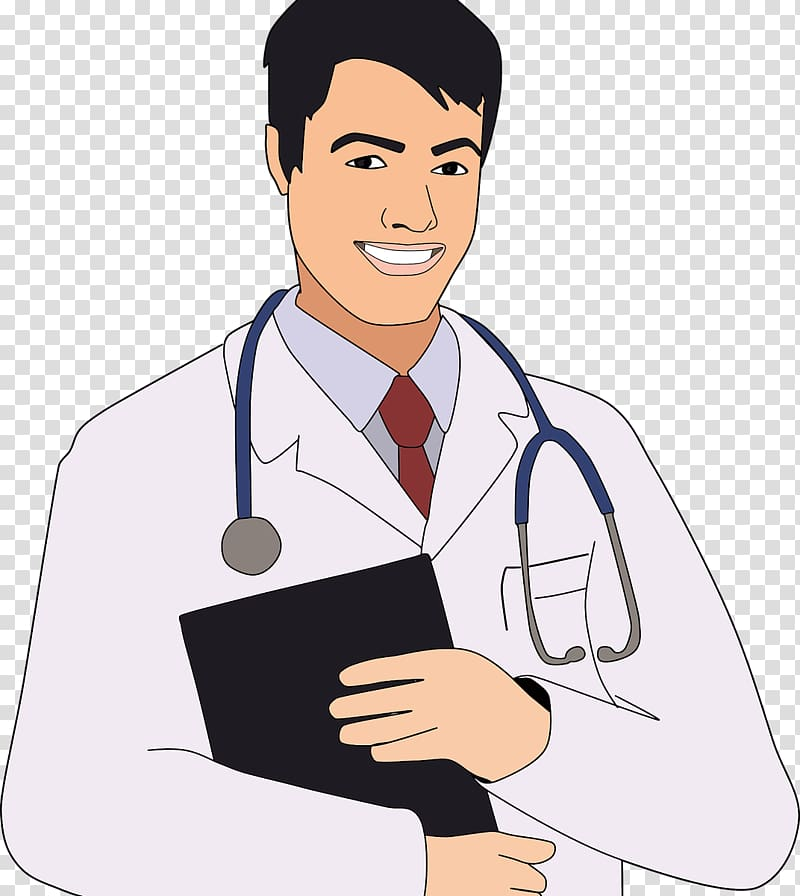 Cute doctor Physician , doctors transparent background PNG.