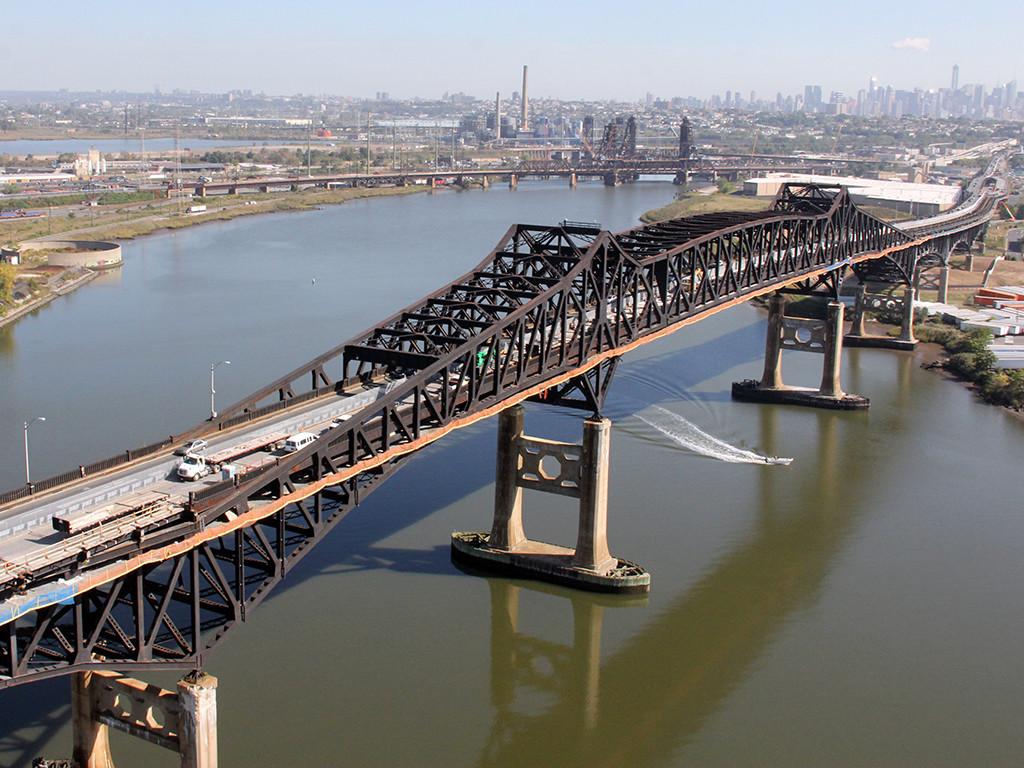 Pulaski Skyway Bridge Rehabilitation.
