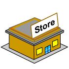 General store clip art free.