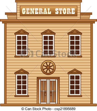 General store clipart icon.