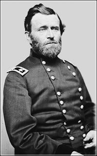 Clipart of President Ulysses S. Grant.