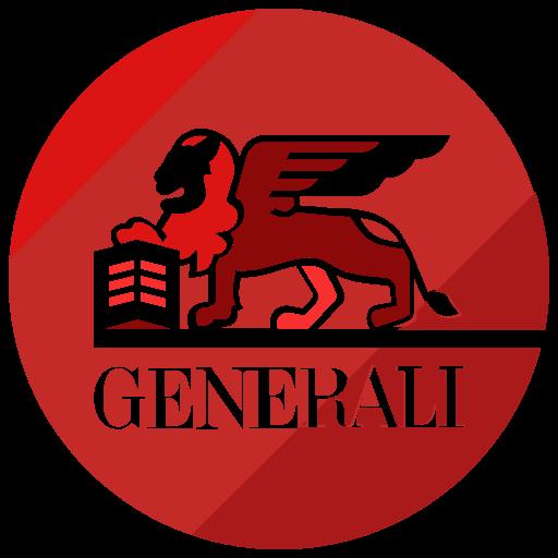 Finance, generali, logo icon.