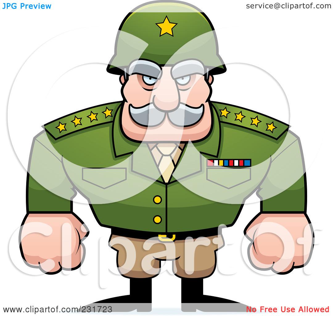 Clipart of generals.
