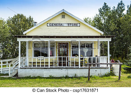 Picture of Old General Store.