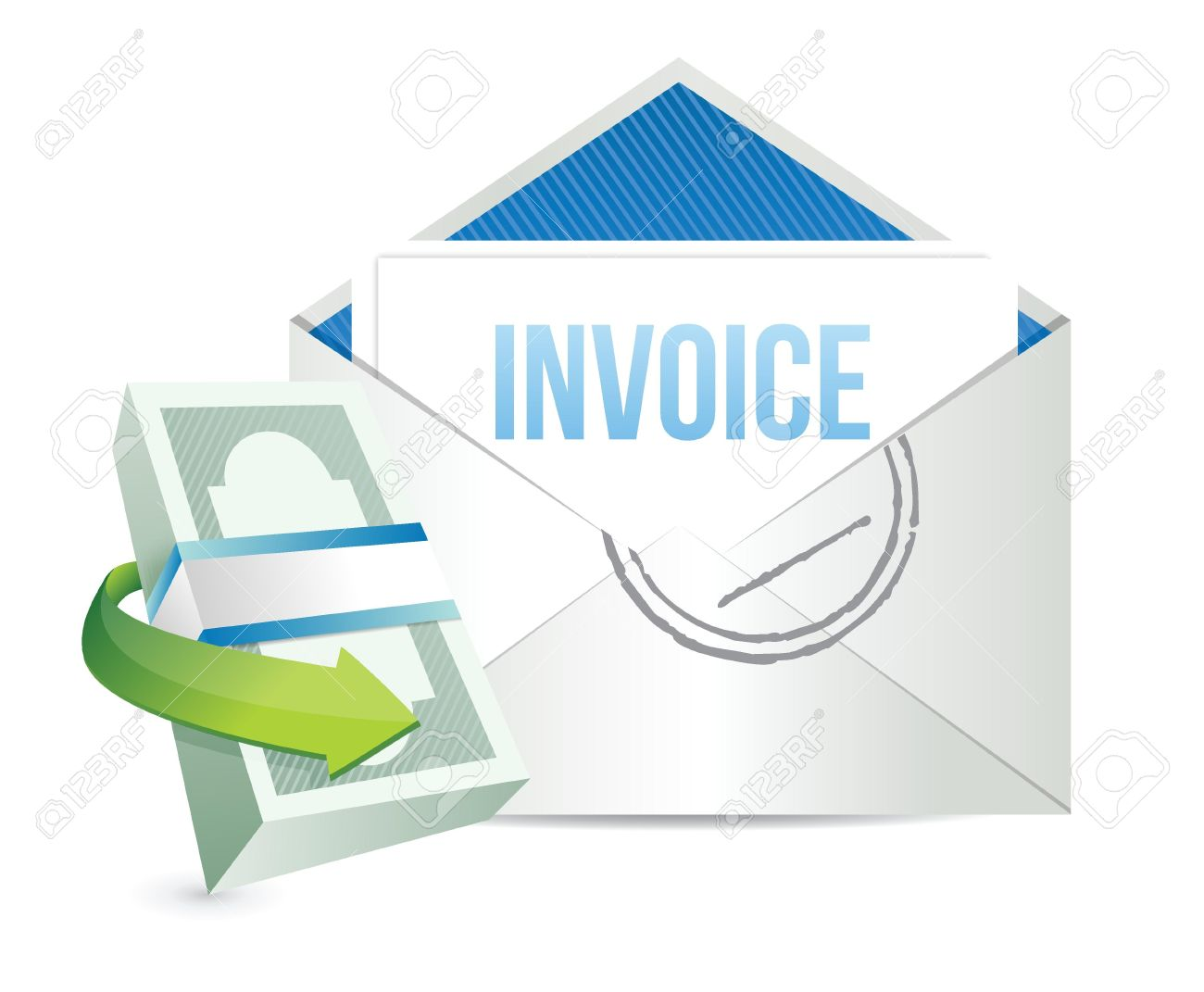 Generate Invoice Clip Art.