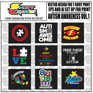 Details about Autism Support vol.1/ T.
