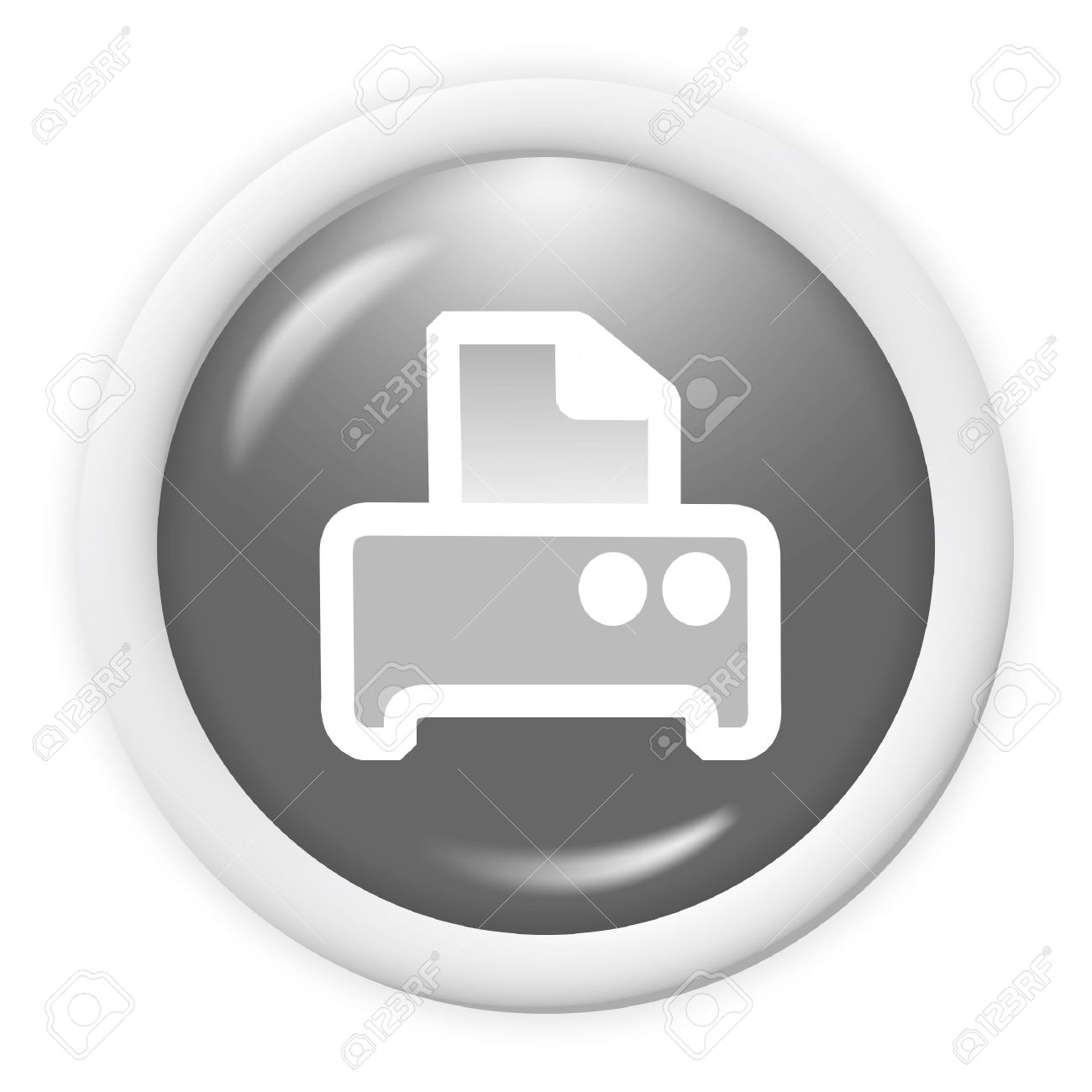 3d Printer Icon.