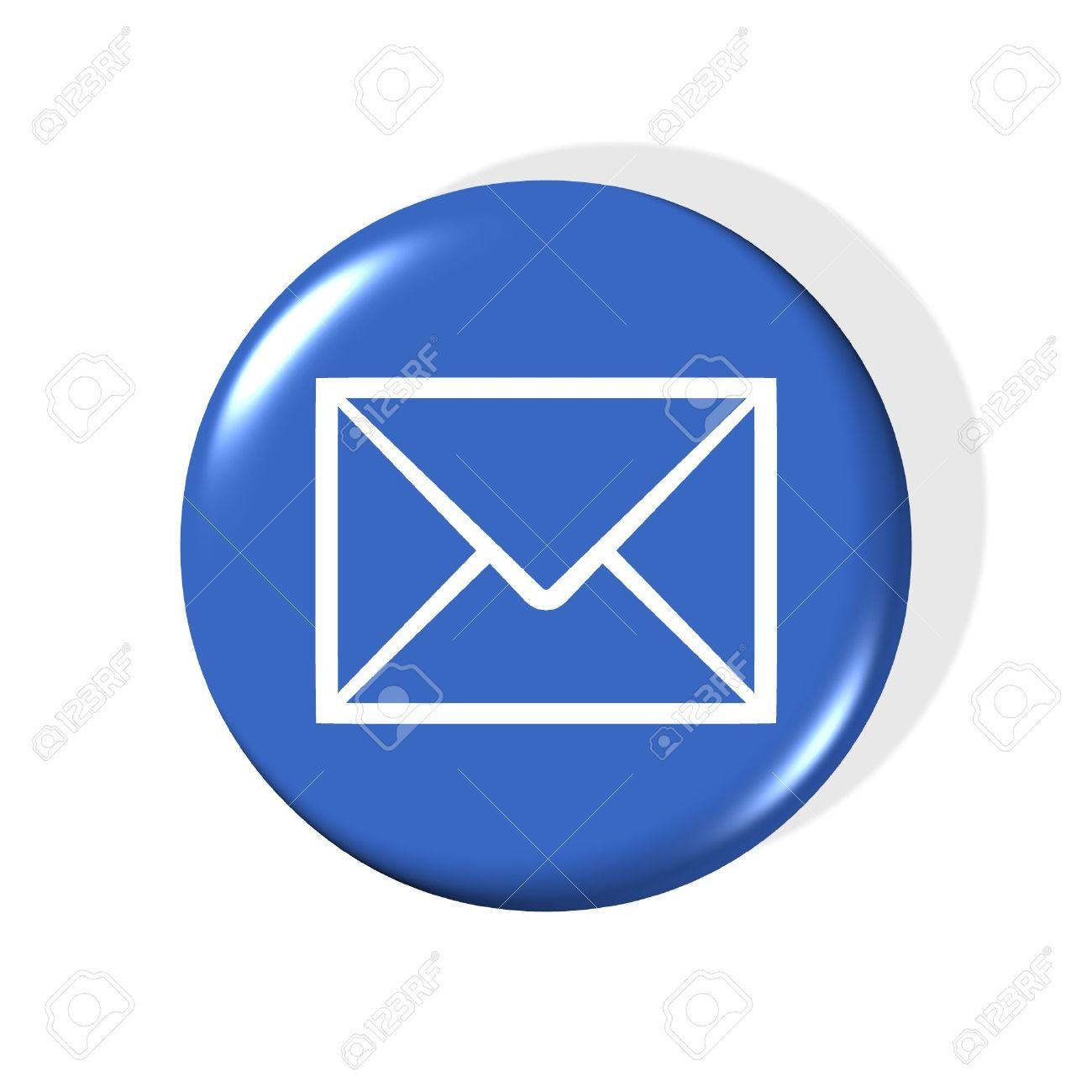 3d Email Symbol.
