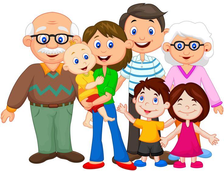 Family generations clip art.