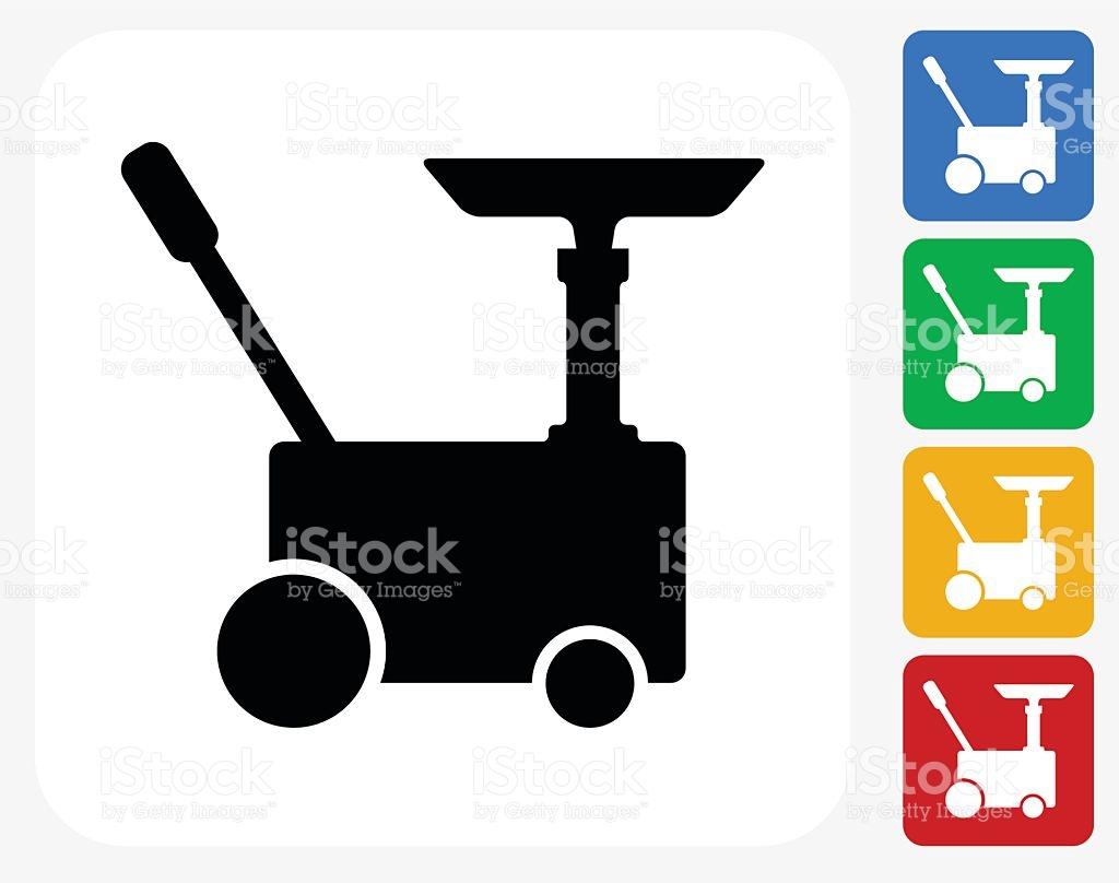 Car Generator Icon Flat Graphic Design stock vector art 492249176.
