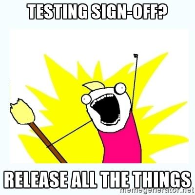 TESTING SIGN.