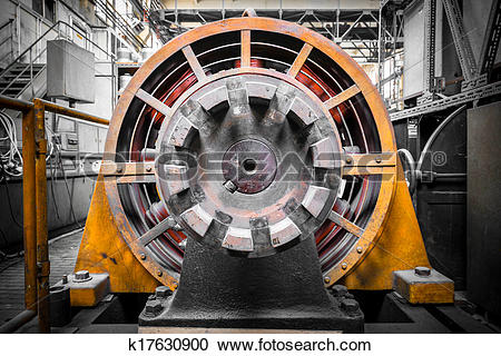 Stock Photography of electric power generator k17630900.
