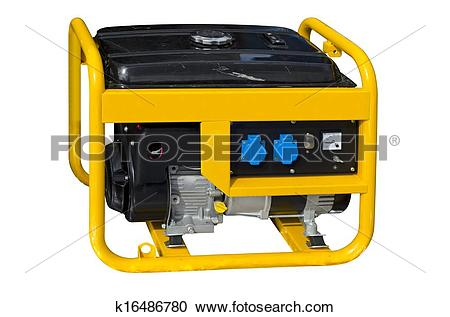 Stock Photography of Portable generator k16486780.