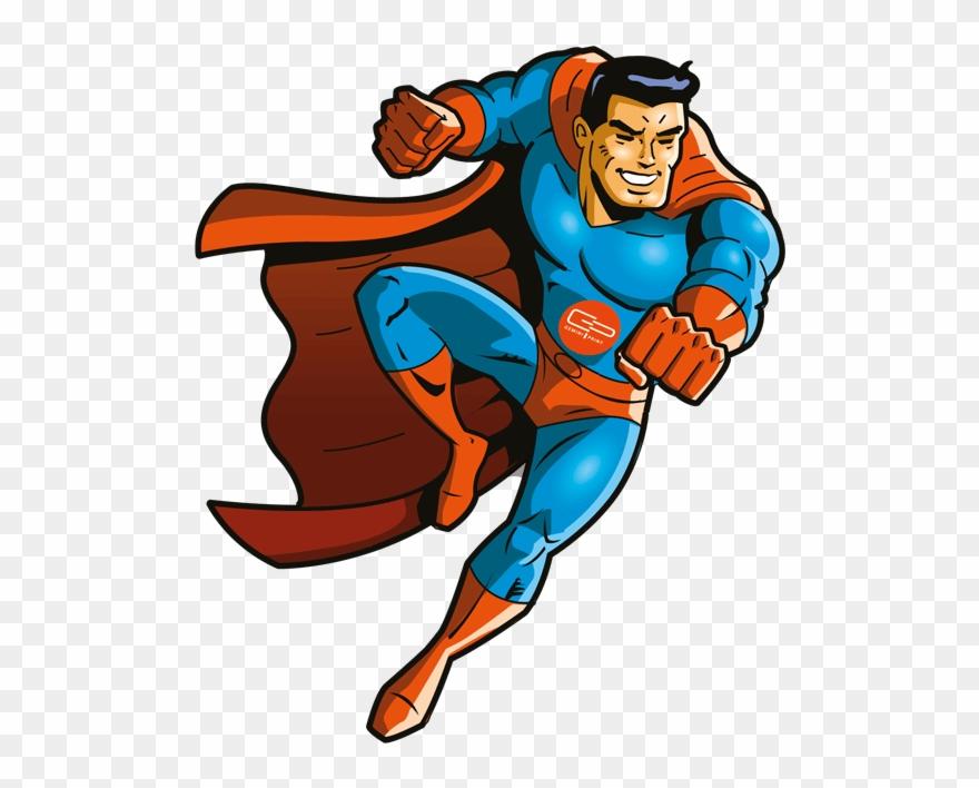 Royalty Free Superhero Clipart.