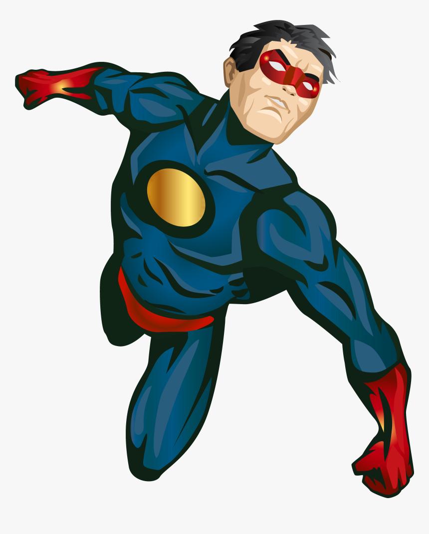 Hero Clipart Generic Superhero.