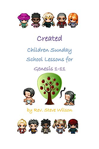 Created: Children Sunday School Lessons for Genesis 1.