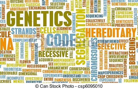 Clip Art of Genetics.