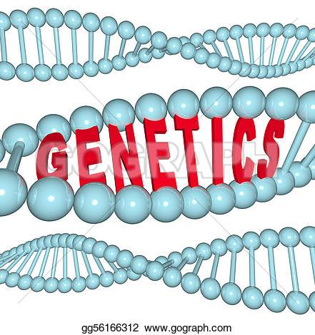 Genetics Stock Illustrations.
