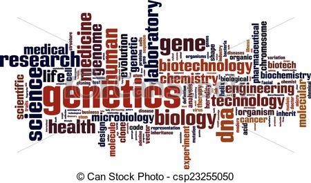 Genetics Clip Art.