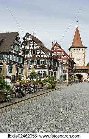 "Stock Image of ""Gengenbach, Kinzigtal, Ortenau, Baden."