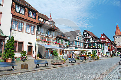 Gengenbach Market Editorial Image.