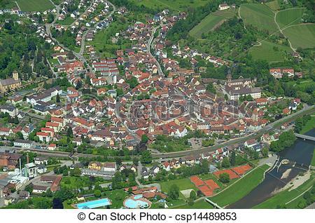 Stock Bilder von gengenbach, Luftaufnahmen.
