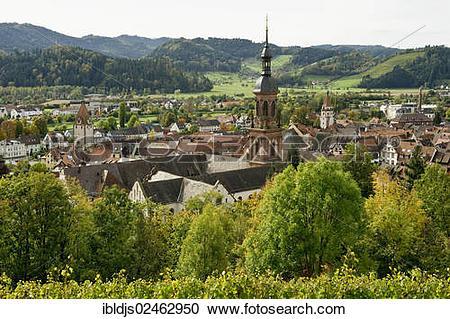 "Stock Photography of ""Gengenbach, Kinzigtal, Ortenau, Baden."
