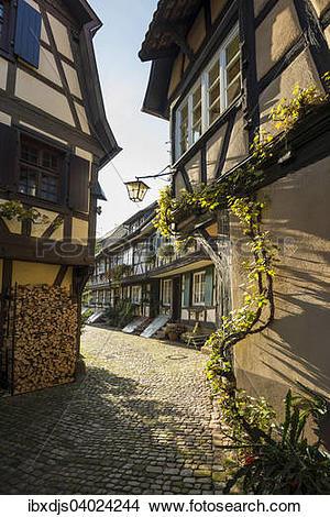 "Stock Photo of ""Engelgasse alley, Gengenbach, Kinzig, Ortenau."
