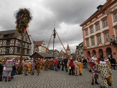 Gengenbach: Witches, Spättlehansel, Klepperle and Lumbehund.