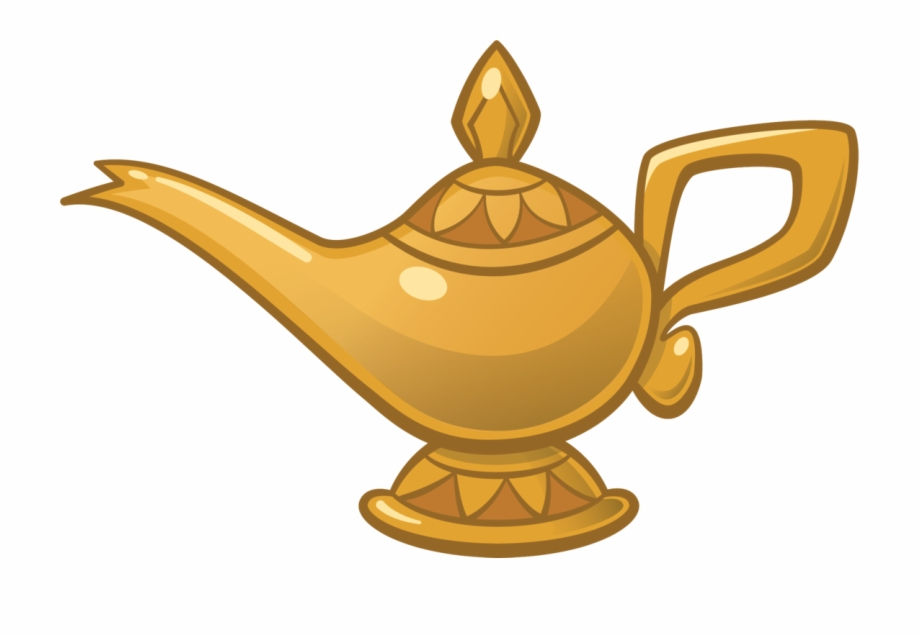 Genie Drawing Clipart.