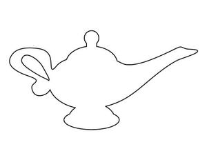 Genie Bottle Clipart.