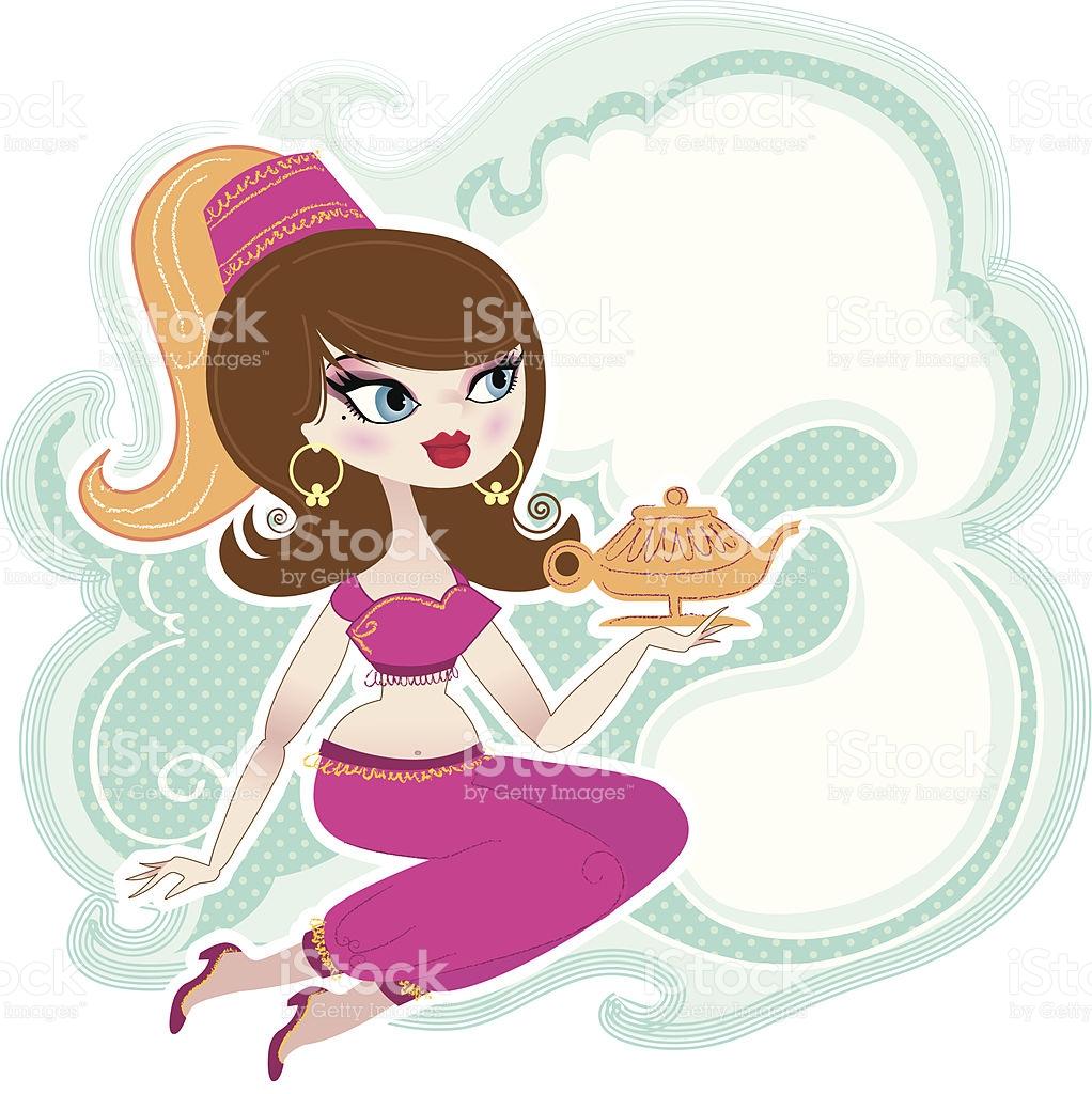 Genie Clip Art, Vector Images & Illustrations.