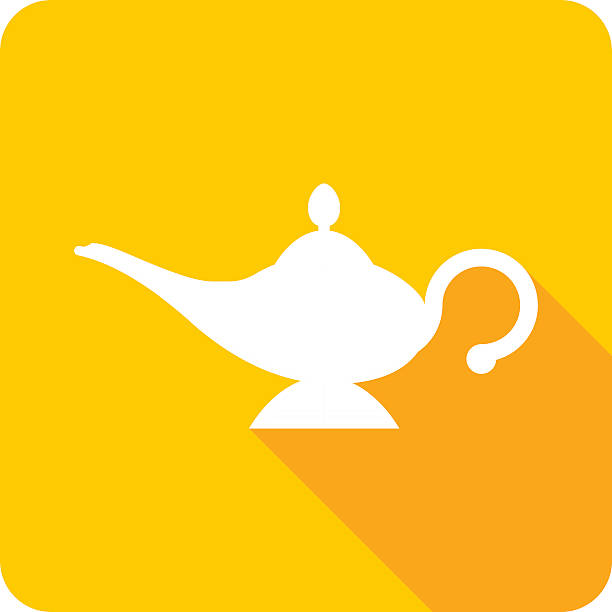 Top 60 Genie Lamp Clip Art, Vector Graphics and Illustrations.