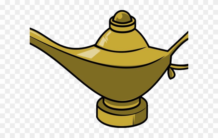 Genie Lamp Clipart Chirag.