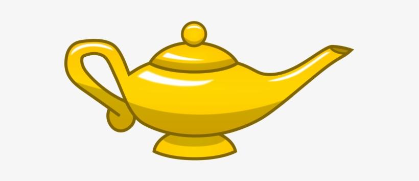 Gold Magic Lamp.